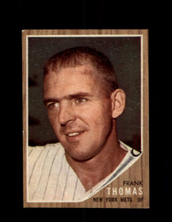 1962 FRANK THOMAS TOPPS #7 METS *G4036