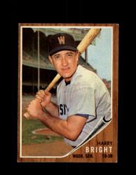 1962 HARRY BRIGHT TOPPS #551 SENATORS *G4049
