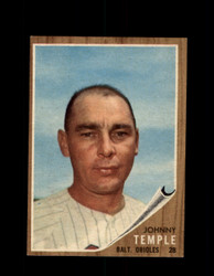 1962 JOHNNY TEMPLE TOPPS #34 ORIOLES *G4051