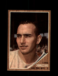 1962 CHRIS CANNIZZARO TOPPS #26 METS *G4052