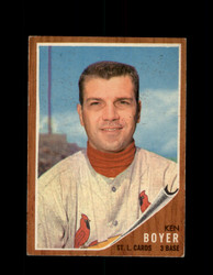 1962 KEN BOYER TOPPS #370 CARDINALS *G4059