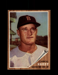 1962 CARROLL HARDY TOPPS #101 RED SOX *G4074