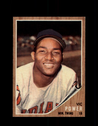 1962 VIC POWER TOPPS #445 TWINS *R1897