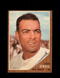 1962 OZZIE VIRGIL TOPPS #327 ORIOLES *G3988