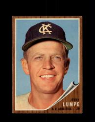 1962 JERRY LUMPE TOPPS #305 ATHLETICS *9850