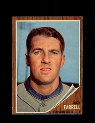 1962 DICK FARRELL TOPPS #304 COLTS *9886