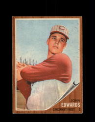1962 JOHN EDWARDS TOPPS #302 REDS *9920