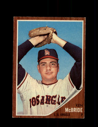 1962 KEN MCBRIDE TOPPS #268 ANGELS *G6391