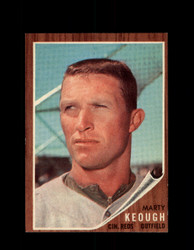 1962 MARTY KEOUGH TOPPS #258 REDS *G6406