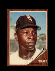 1962 JUAN PIZARRO TOPPS #255 WHITE SOX *G6412