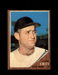 1962 HARRY CHITI TOPPS #253 INDIANS *G6367