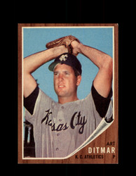 1962 ART DITMAR TOPPS #246 ATHLETICS *G2970