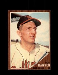 1962 RON HANSEN TOPPS #245 ORIOLES *G3963