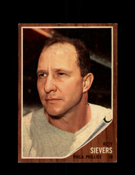1962 ROY SIEVERS TOPPS #220 PHILLIES *G4028