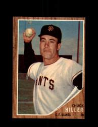1962 CHUCK HILLER TOPPS #188 GIANTS *G4405