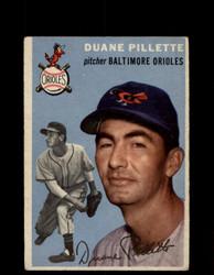 1954 DUANE PILLETTE TOPPS #107 ORIOLES *G4407