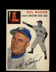 1954 DEL BAKER TOPPS #133 RED SOX *G4410