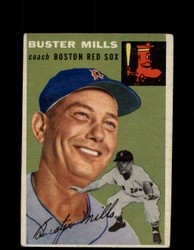 1954 BUSTER MILLS TOPPS #227 RED SOX *G4417