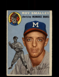 1954 ROY SMALLEY TOPPS #231 BRAVES *G4420