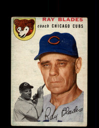 1954 RAY BLADES TOPPS #243 CUBS *G4422