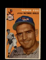 1954 HOWIE FOX TOPPS #246 ORIOLES *G4423