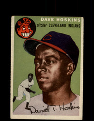 1954 DAVE HOSKINS TOPPS #81 INDIANS *G4424