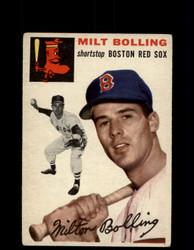1954 MILT BOLLING TOPPS #82 RED SOX *G4425
