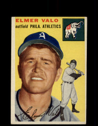 1954 ELMER VALO TOPPS #145 ATHLETICS *G4427