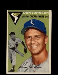 1954 DON JOHNSON TOPPS #146 WHITE SOX *G4428