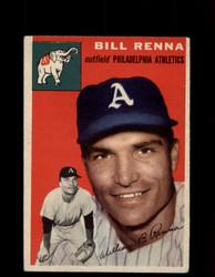 1954 BILL RENNA TOPPS #112 ATHLETICS *G4429