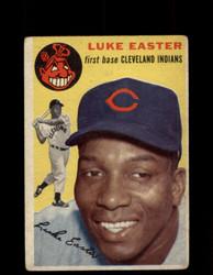 1954 LUKE EASTER TOPPS #23 INDIANS *G4433