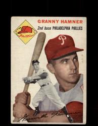 1954 GRANNY HAMNER TOPPS #24 PHILLIES *G4434