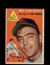 1954 RAY JABLONSKI TOPPS #26 CARDINALS *G4435