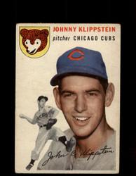 1954 JOHNNY KLIPPSTEIN TOPPS #31 CUBS *G4437
