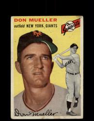 1954 DON MUELLER TOPPS #42 GIANTS *G4445