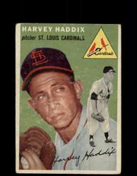 1954 HARVEY HADDIX TOPPS #9 CARDINALS *G4447