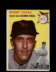 1954 BOBBY YOUNG TOPPS #8 ORIOLES *G4448