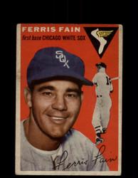 1954 FERRIS FAIN TOPPS #27 WHITE SOX *G4449