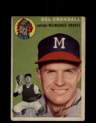 1954 DEL CRANDALL TOPPS #12 BRAVES *G4450
