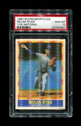1990 NOLAN RYAN SCORE/SPORTFLICS 11TH NATIONAL PSA 10