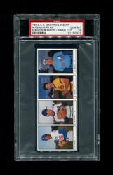 1984 NOLAN RYAN A.S. GM PROG INSERT HAND CUT A. PENA PSA 10