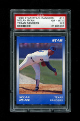 1990 NOLAN RYAN STAR (RANGERS) #11 TEXAS RANGERS PSA 8.5