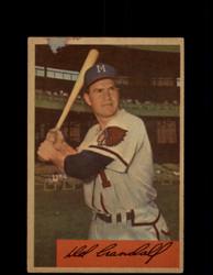 1954 DEL CRANDALL BOWMAN #32 BRAVES *G2950