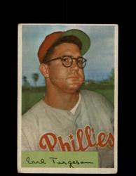 1954 EARL TORGESON BOWMAN #63 PHILLIES *G2954