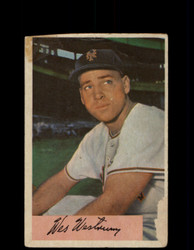1954 WES WESTRUM BOWMAN #25 GIANTS *G2995
