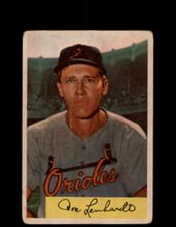 1954 DON LENHARDT BOWMAN #53 ORIOLES *G2998