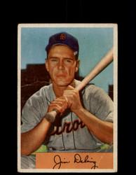 1954 JIM DELSING BOWMAN #55 TIGERS *G3961