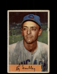 1954 ROY SMALLEY BOWMAN #109 CUBS *G3964