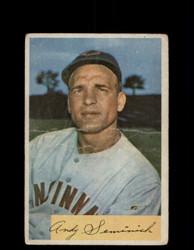 1954 ANDY SEMINICK BOWMAN #172 REDLEGS *R1525