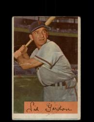 1954 SID GORDAN BOWMAN #11 PIRATES *R1080